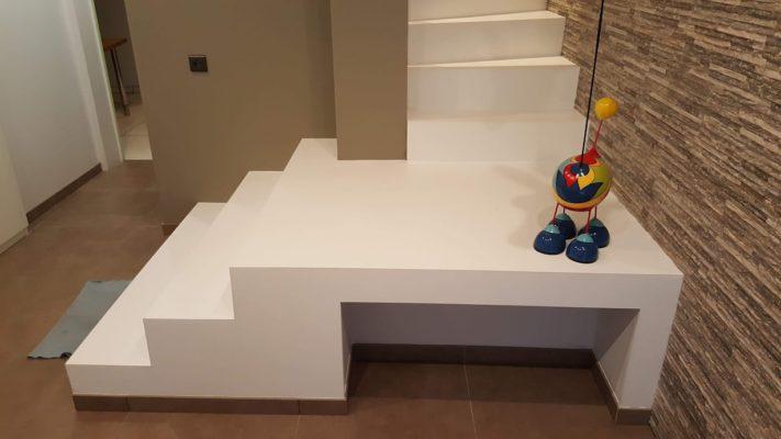 Escalier polyuréthane contemporain